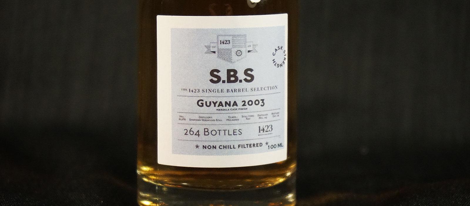 Åttonde plats 2017: 1423 SBS Guyana 2003