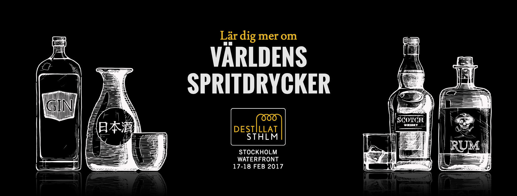 Destillat Stockholm – premiär 2017