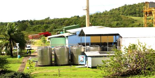 Destilleri Trois Rivières, Martinique