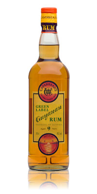 Cadenhead's Green Label Guyanan Rum 9 Years