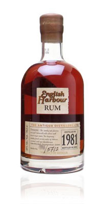 English Harbour Rum 25