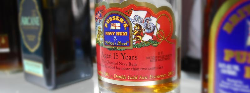 Pusser's Navy Rum 15 years