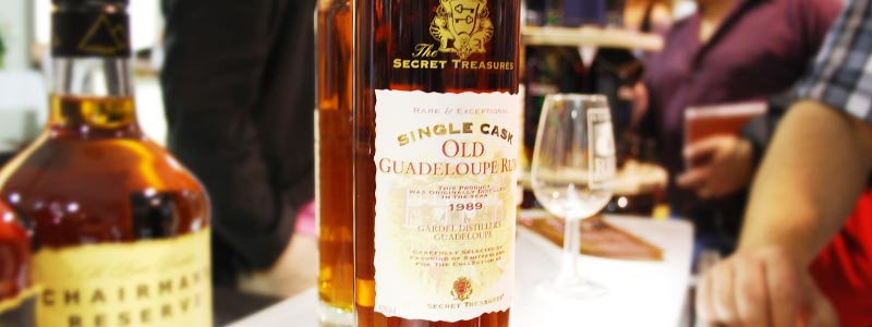 Secret Treasures Old Guadeloupe Rum Vintage 1989
