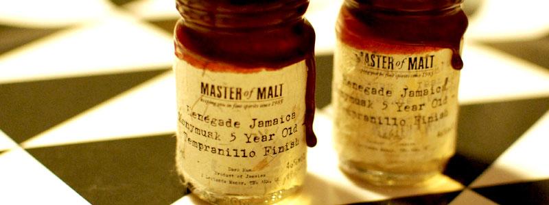 Renegade Jamaica Monymusk 5 Year – Tempranillo