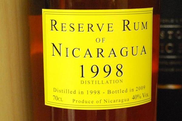 Bristol Nicaragua Reserve 1998