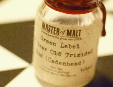 Cadenhead's Green Label Trinidad 15