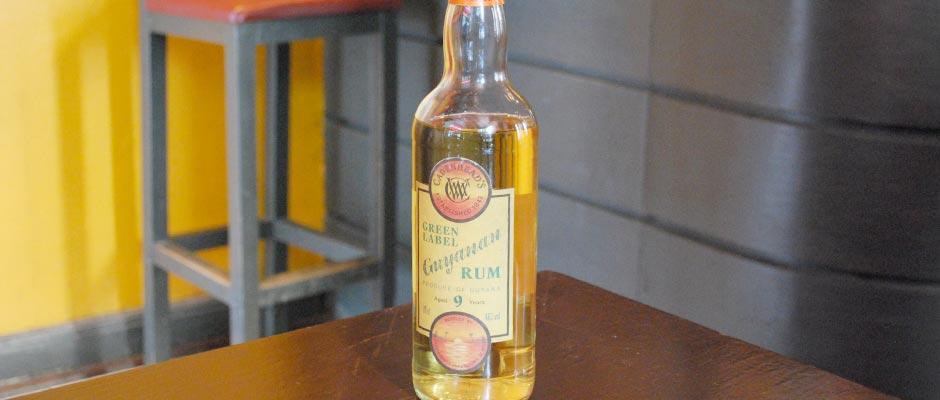 Cadenhead's Green Label Guyanan Rum 9 years