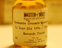 Renegade Grenada Westerhall 12 Year Old 1996 - Château Margaux Finish