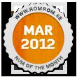 Månadens rom mars 2012