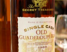 Secret Treasures Old Guadeloupe Rum