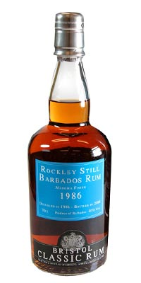 Bristol Classic Rum Rockley Still Barbados 1986