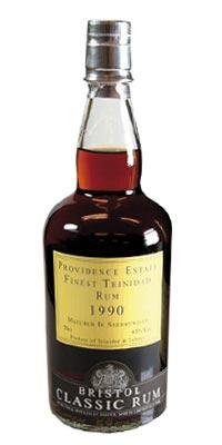Bristol Classic Rum Providence Estate Finest Trinidad 1990