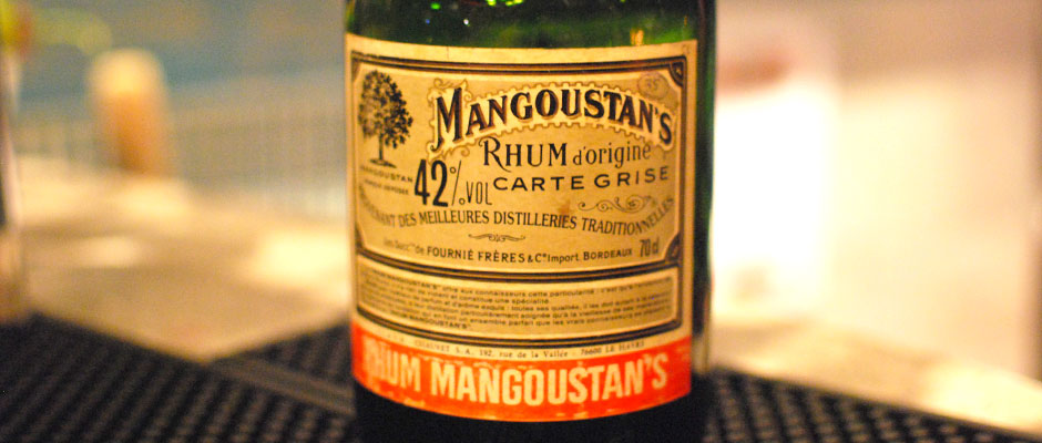 Mangoustan's Rhum Origine Carte Grise