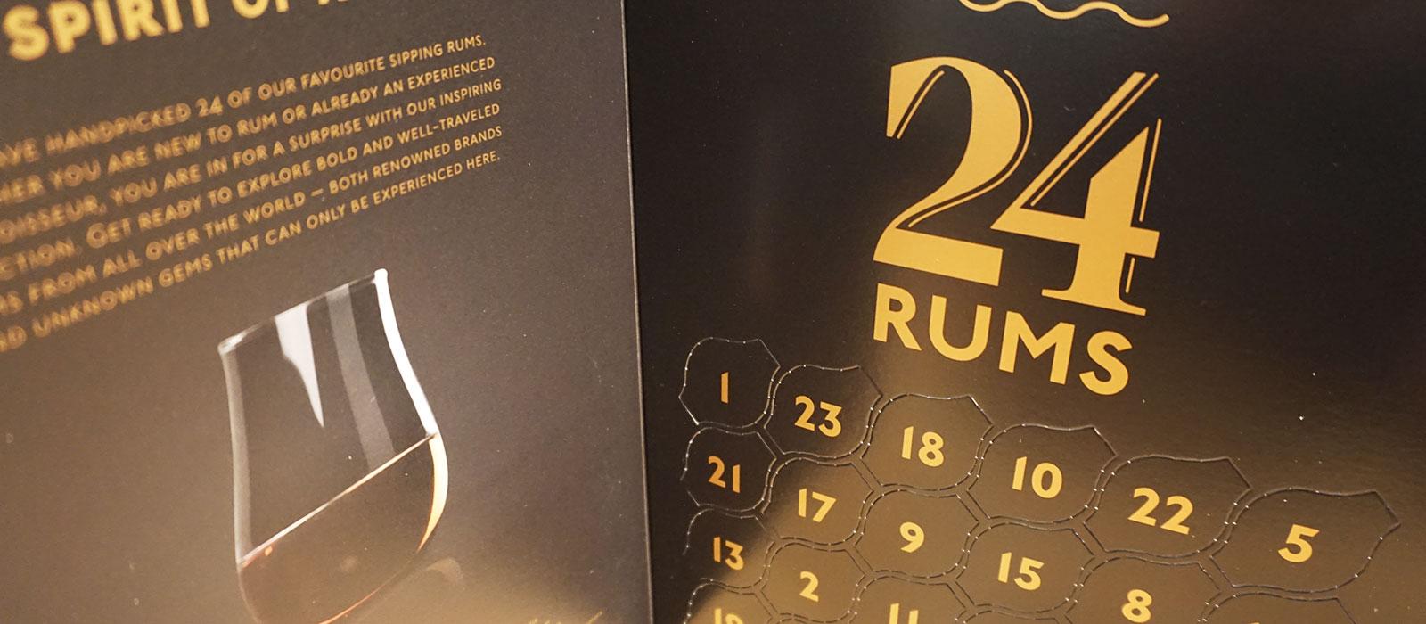 24 Rums finns nu att beställa på Systembolaget