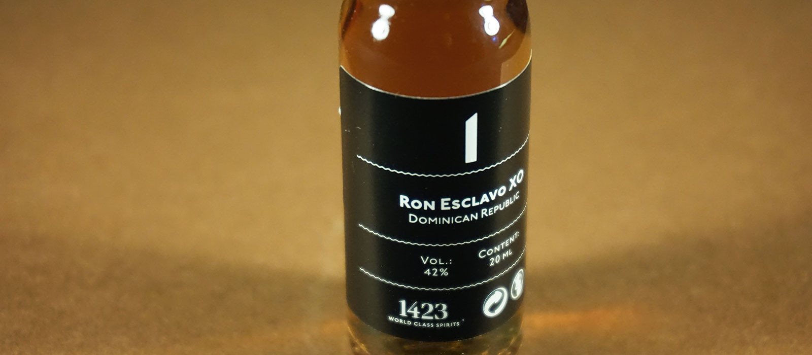 24 Days of Rum 2017: Dag 1 – Ron Esclavo XO