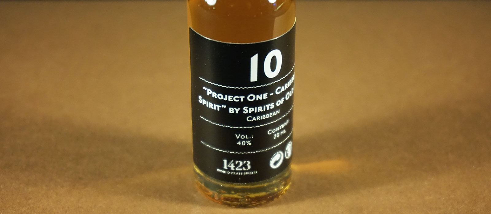 "24 Days of Rum 2017: Dag 10 – ""Project One – Caribbean Spirit"" by Spirits of Old Man"
