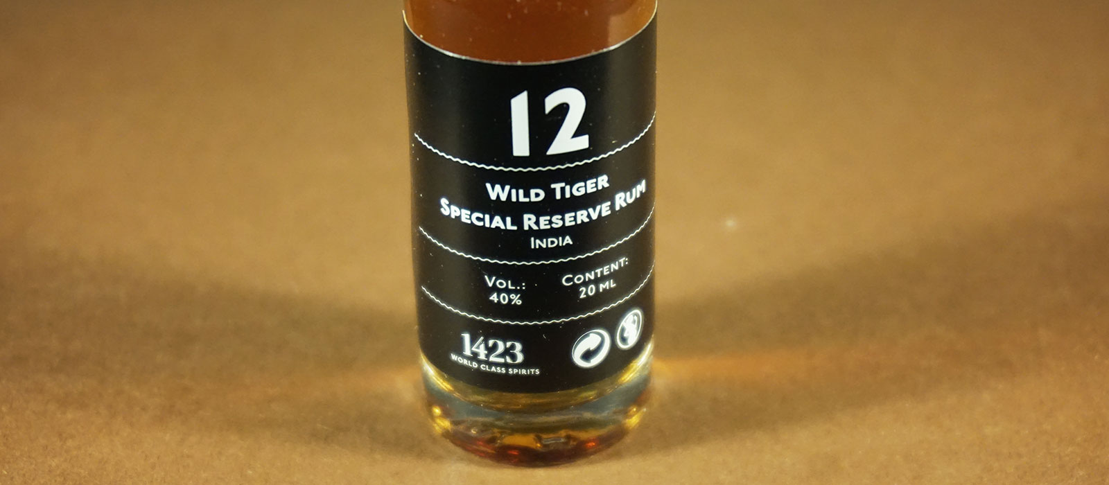 24 Days of Rum 2017: Dag 12 – Wild Tiger Special Reserve
