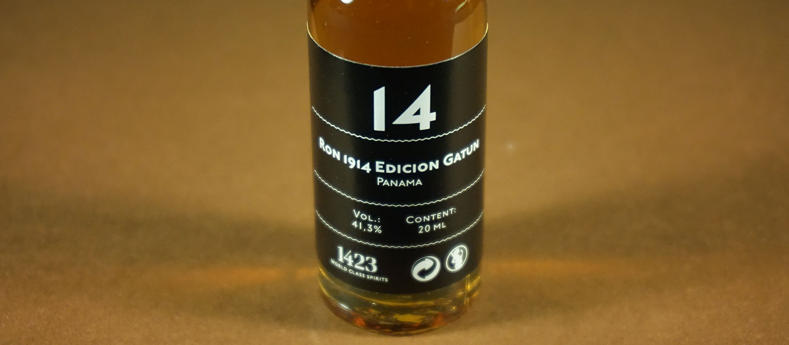 24 Days of Rum 2017: Dag 14 – Ron 1914 Edicion Gatun