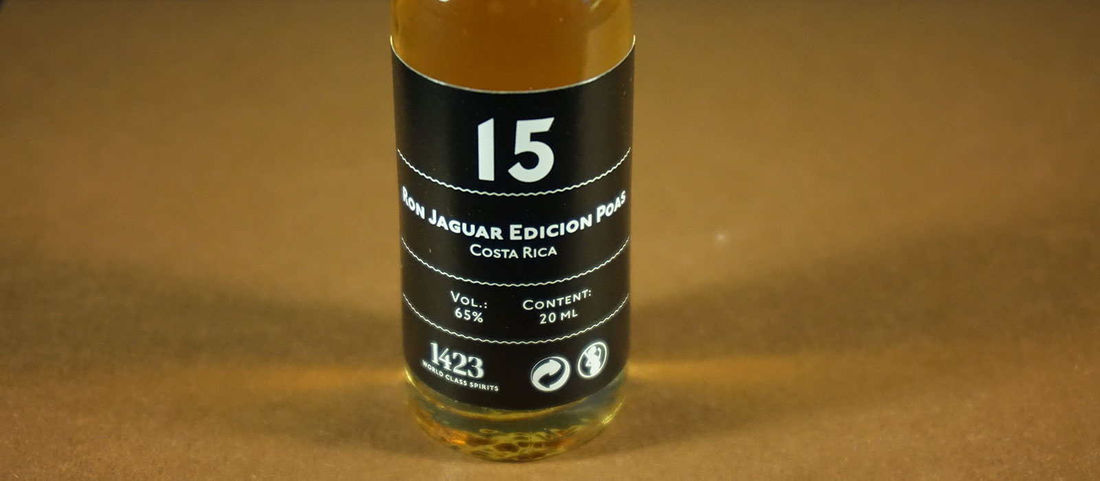 24 Days of Rum 2017: Dag 15 – Ron Jaguar Edicion Poas