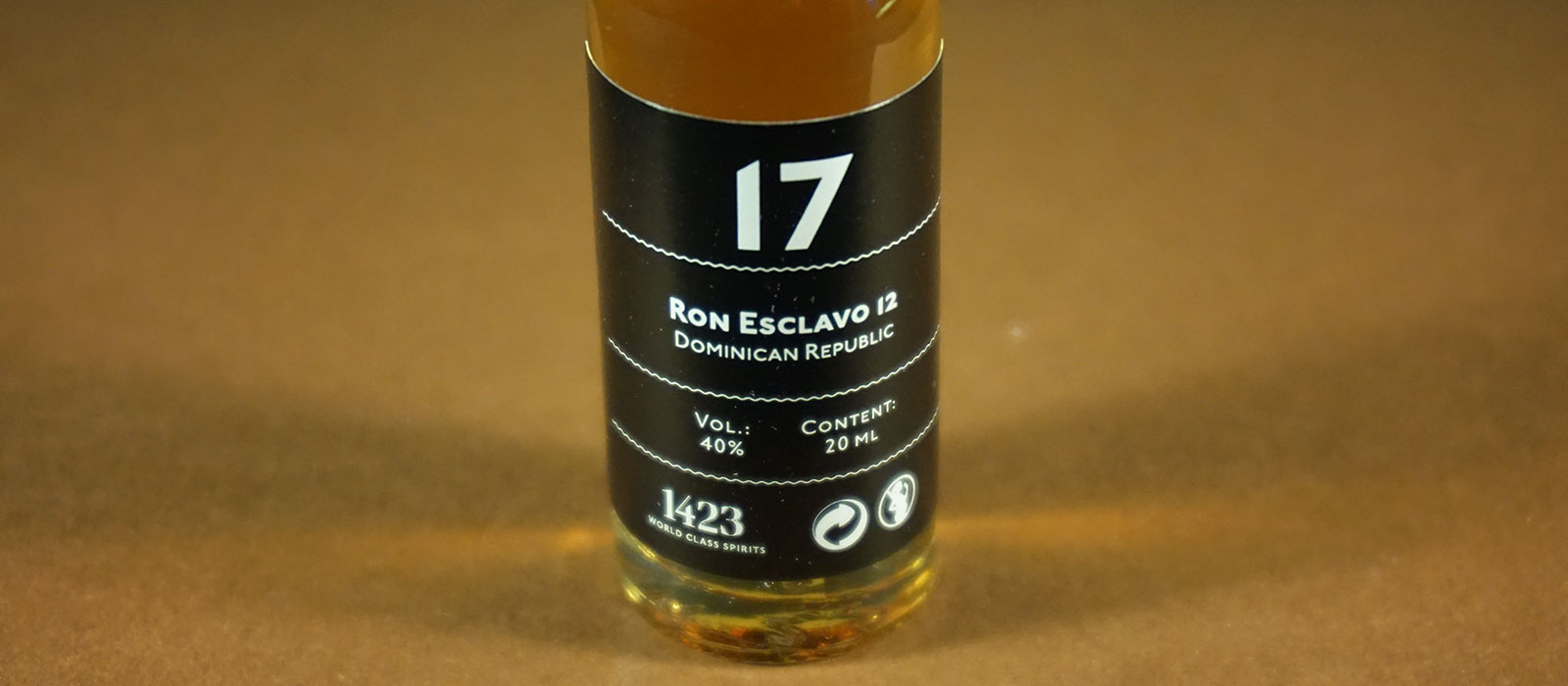 24 Days of Rum 2017: Dag 17 – Ron Esclavo 12