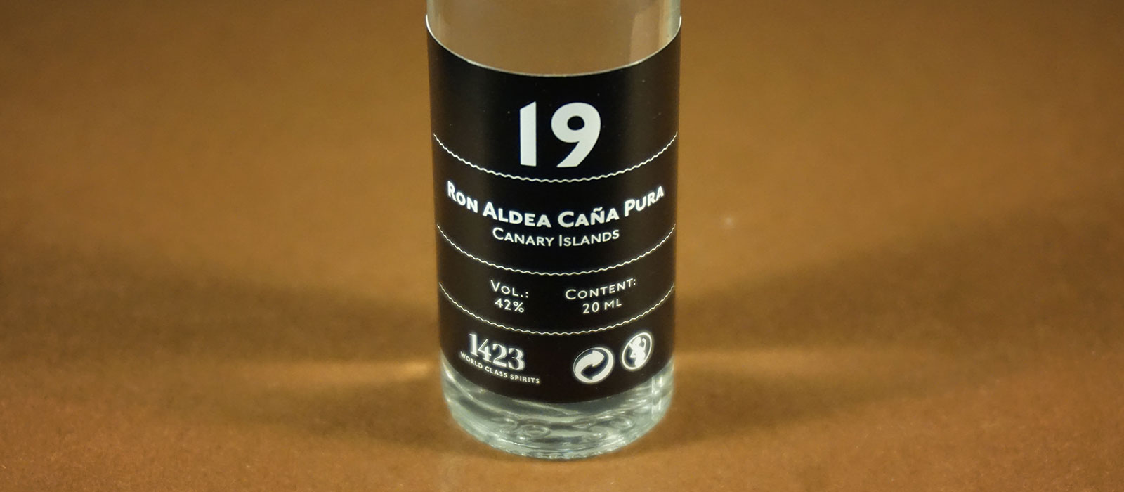 24 Days of Rum 2017: Dag 19 – Ron Aldea Cana Pura