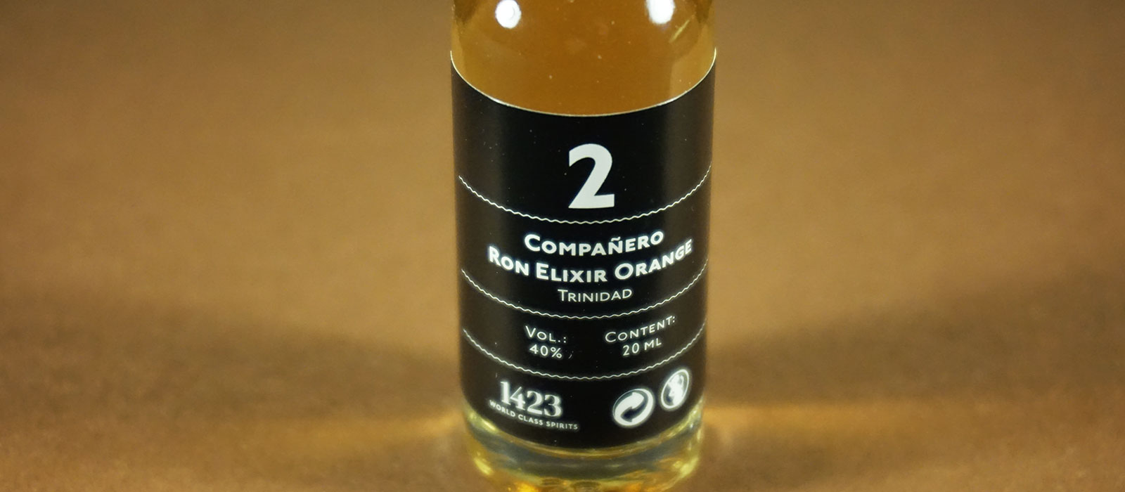 24 Days of Rum 2017: Dag 2 – Compañero Ron Elixir Orange