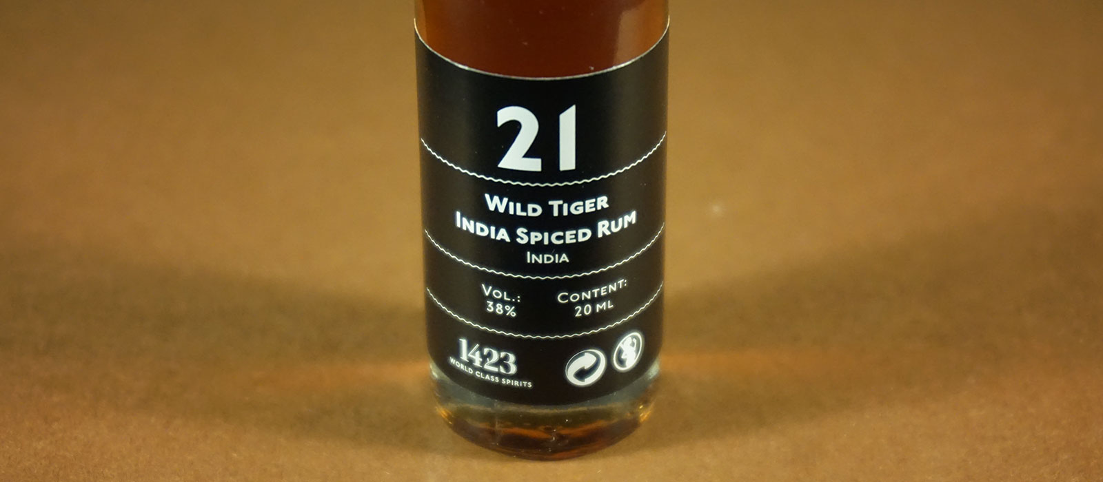 24 Days of Rum 2017: Dag 21 – Wild Tiger India Spiced Rum