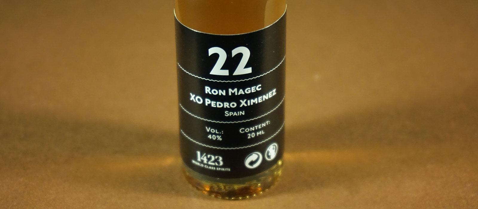 24 Days of Rum 2017: Dag 22 – Rum Magec XO Pedro Ximenez