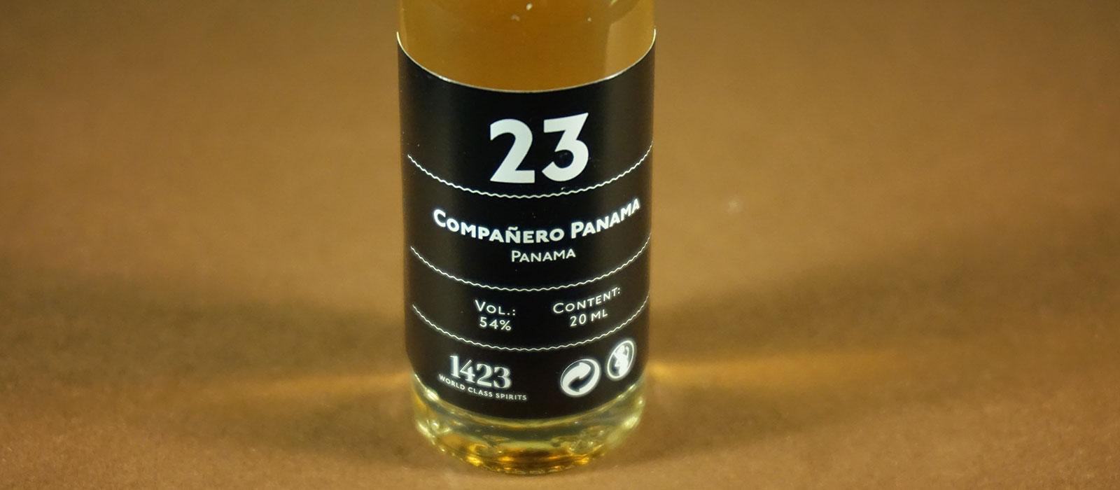 24 Days of Rum 2017: Dag 23 – Compañero Panama
