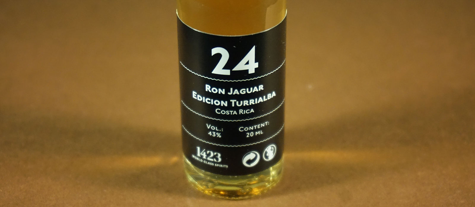 24 Days of Rum 2017: Dag 24 – Ron Jaguar Edicion Turrialba