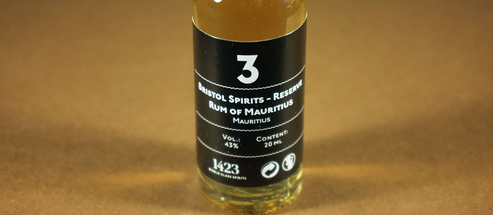 24 Days of Rum 2017: Dag 3 – Bristol Spirits Reserve Rum of Mauritius 5 years