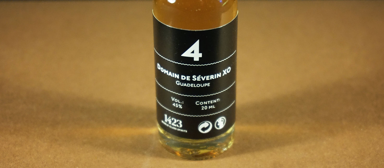 24 Days of Rum 2017: Dag 4 – Domaine de Séverin XO