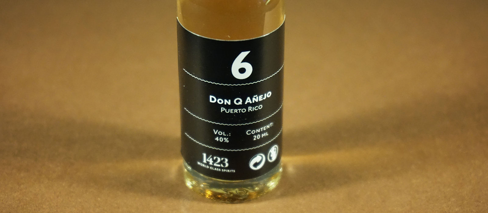 24 Days of Rum 2017: Dag 6 – Don Q Anejo