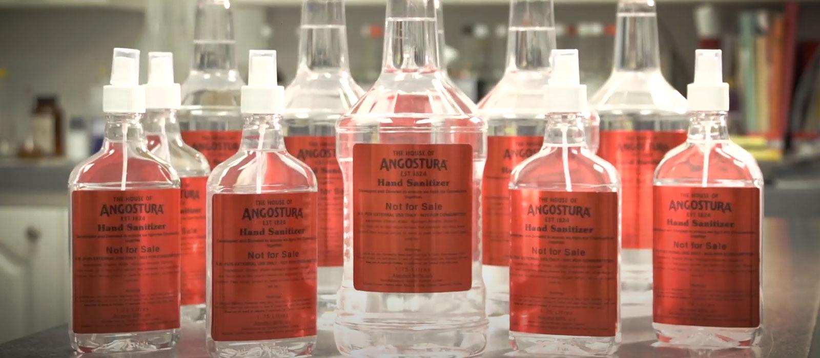Sjunde plats 2020: Angostura Hand Sanitizer