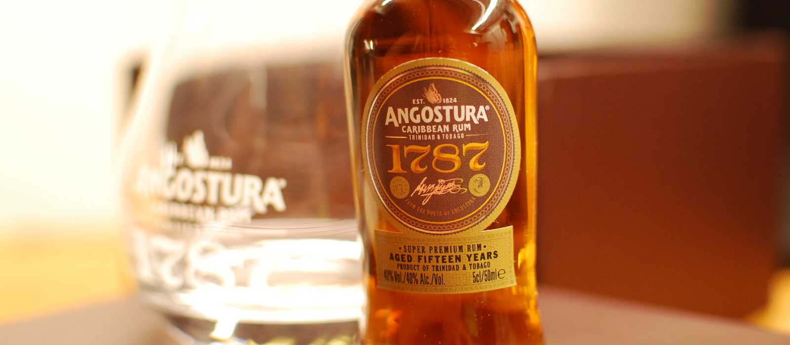 Fjärde plats 2016: Angostura 1787