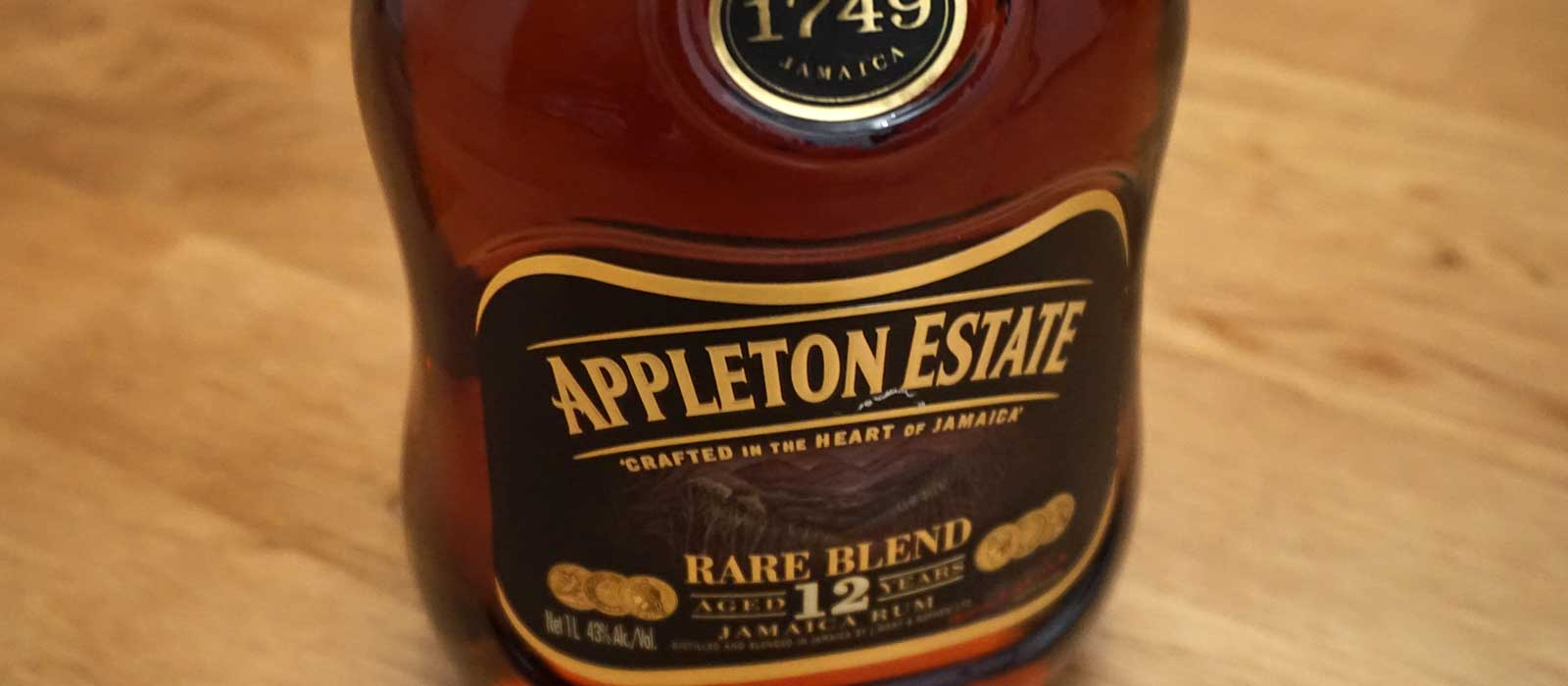 Sjunde plats 2016: Appleton Estate Rare Blend