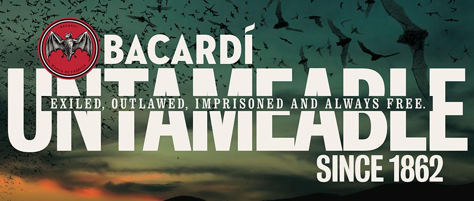 Bacardis nya annonser