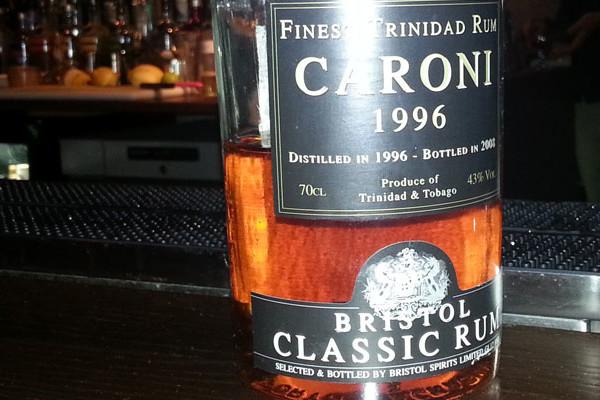 Bristol Classic Rum Caroni Finest Trinidad Rum 1996