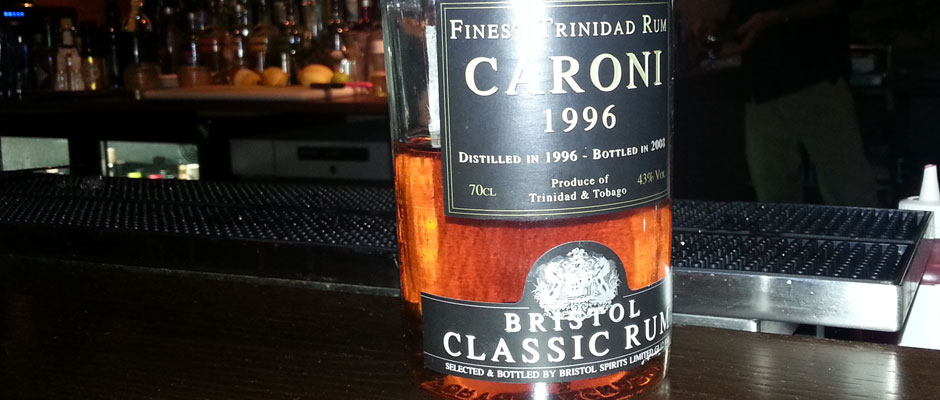 24 Days of Rum: Dag 5 – Bristol Classic Caroni 1996