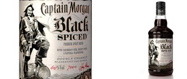 Lansering Captain Morgan Black Spiced