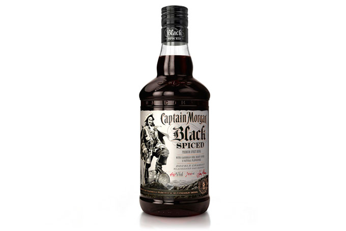 Lansering Captain Morgan Black Spiced