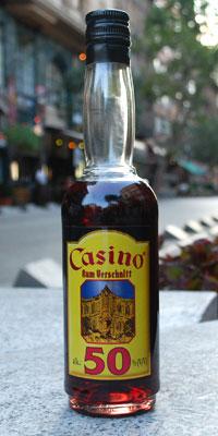 Casino Rum bottle