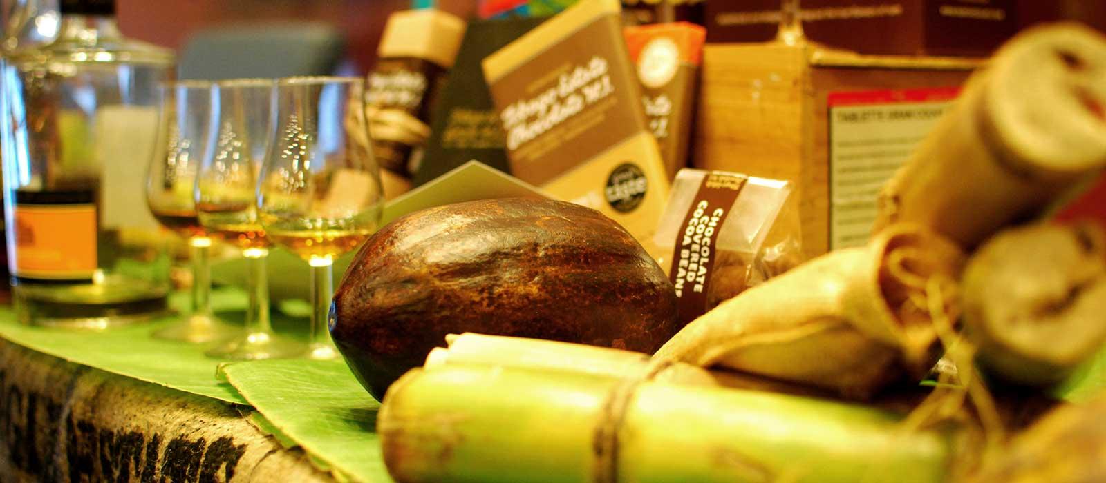 Rom- och chokladprovning med Duane Dove