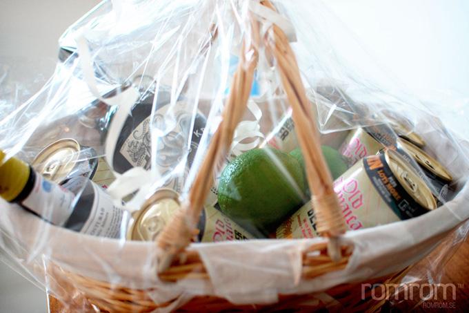 Dark n Stormy Gift Basket