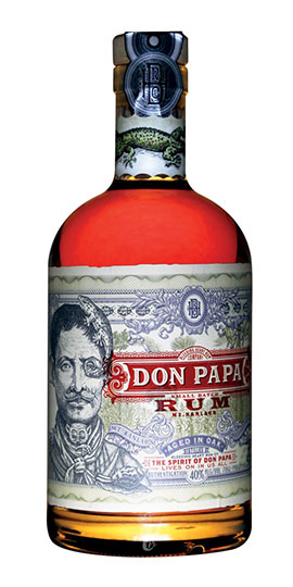 don-papa-small-batch-rum-bottle
