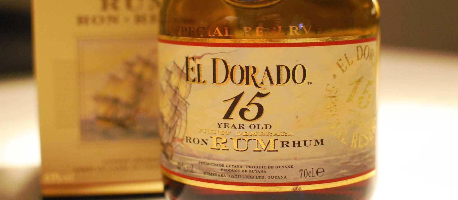 Månadens rom september 2016: El Dorado Special Reserve 15