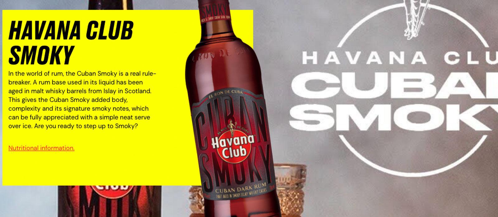 Nyhet – men inte till oss – Havana Club Cuban Smoky