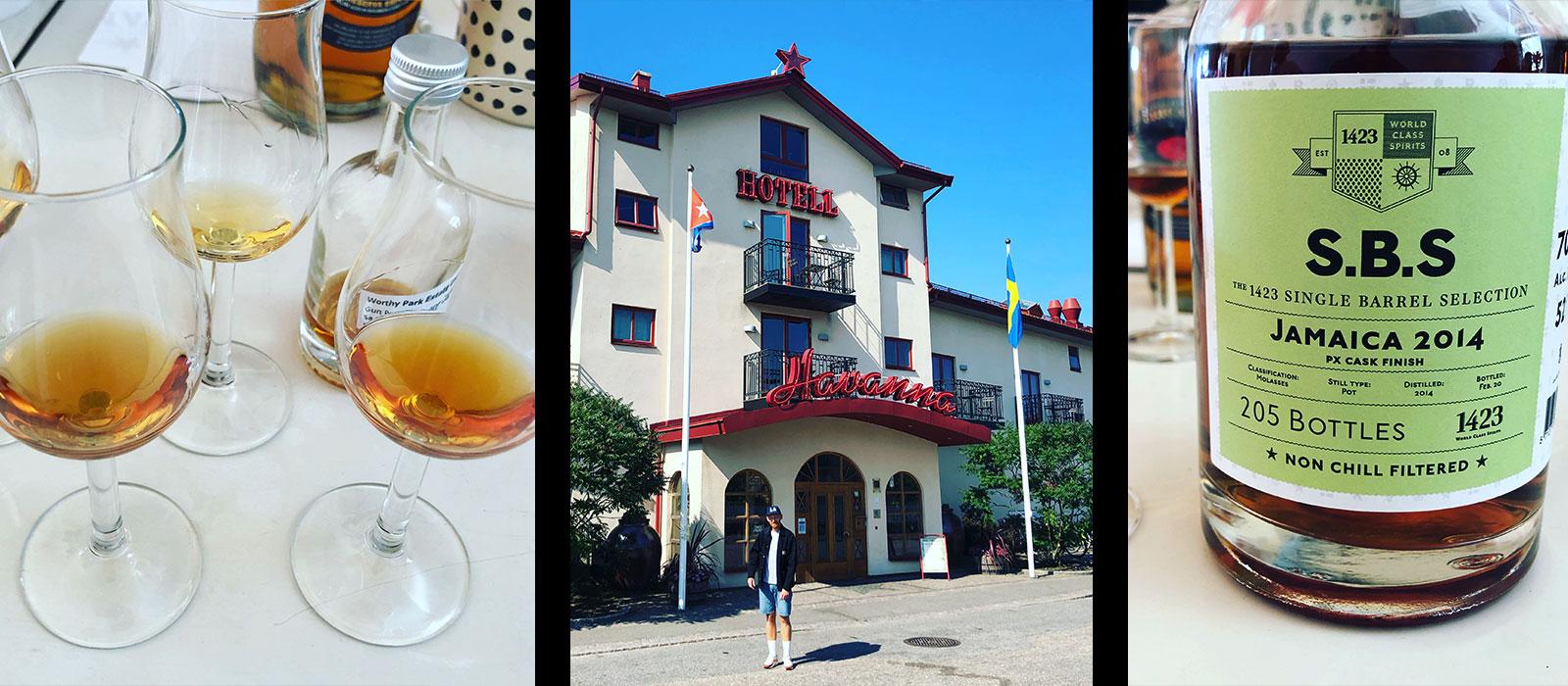 En fantastisk helg hos 1423 Noble Spirit och Hotell Havanna