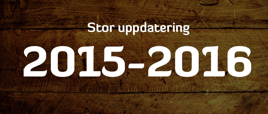 Dags för stor uppdatering!