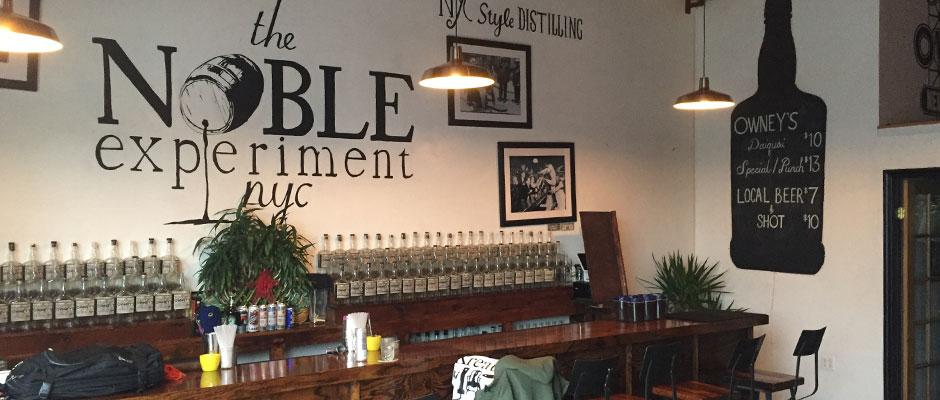 Besök på Owney's NYC Rum